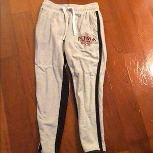 "Vintage Puma Sweatpants ""Grey"""